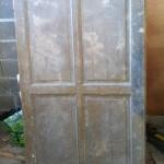 comment faire une t te de lit avec une vieille porte d armoire. Black Bedroom Furniture Sets. Home Design Ideas